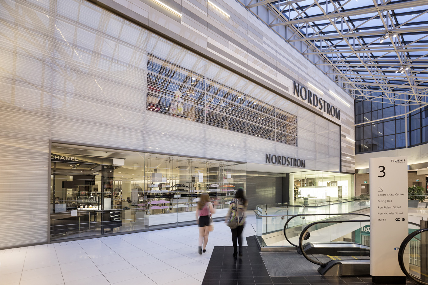 Rideau Style Boheme Chic mall nordstrom - neolith facades